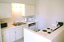 202 Kitchen - Gym Club Suites, Bisbee Arizona Hotels