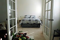 Suite 301 Bedroom - Gym Club Suites, Bisbee Arizona Hotels